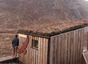 Eagle observatory in North Harris