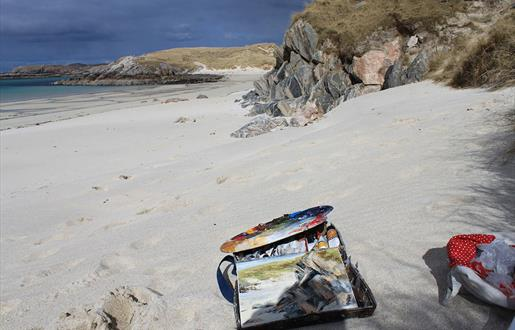 Wild at Art painting holiday in Lewis & Harris