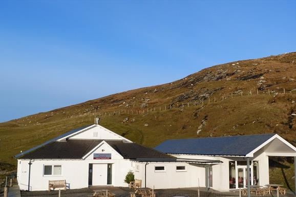 Vatersay Hall Cafe - Welcome Point