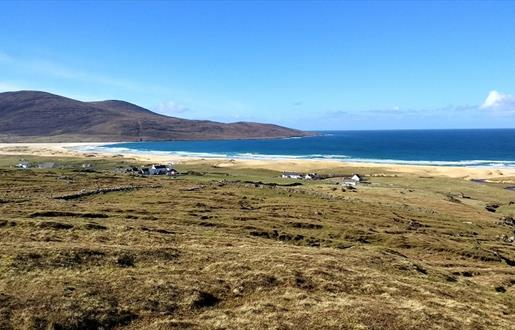 Harris: view from Scarista