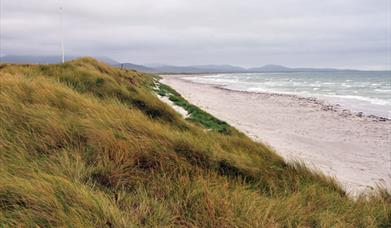 Geirnish Beach amd Machair