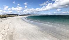 Clachan Sands Beach and Machair