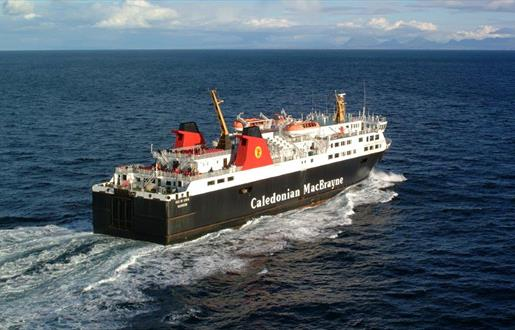 Caledonian MacBrayne Ferry to North Uist - Lochmaddy to Uig Route
