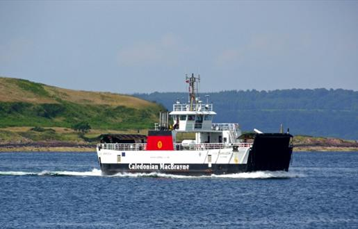 Caledonian MacBrayne Inter-island Ferry Barra & Eriskay - Eriskay to Barra  Route