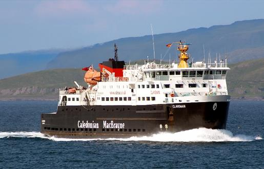 Caledonian MacBrayne Ferry to Barra - Castlebay to Oban  Route