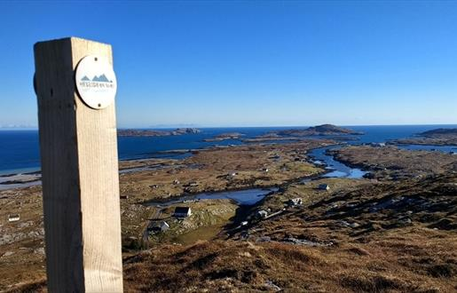 Section A: Walking the Hebridean Way - Vatersay to Northbay