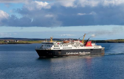 Caledonian MacBrayne Ferry to Lewis - Ullapool to Stornoway Route