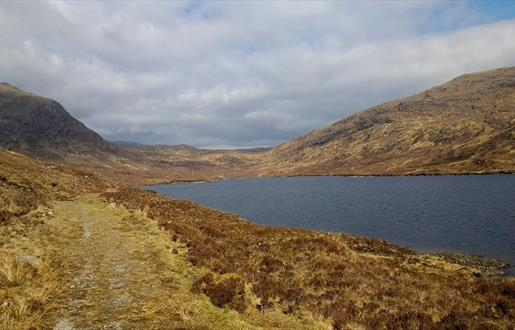 Section J: Walking the Hebridean Way - Tarbert to Scaladale