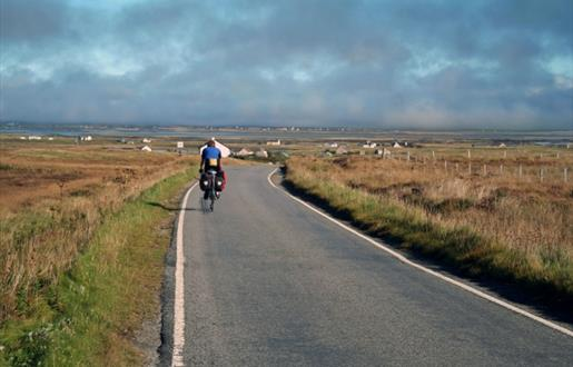 Hebridean Way Cycling Route - Benbecula and Grimsay