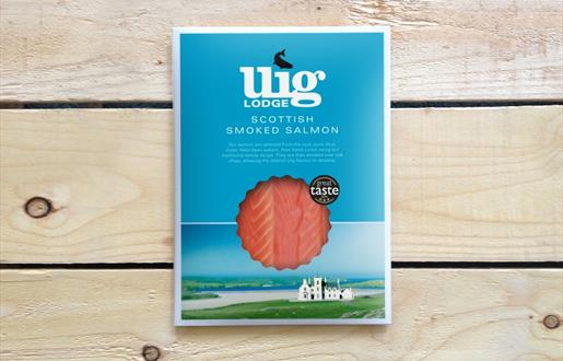 Eat Drink Hebrides - Uig Lodge Smoked Salmon