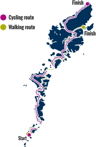 Walking and Cycling Routes